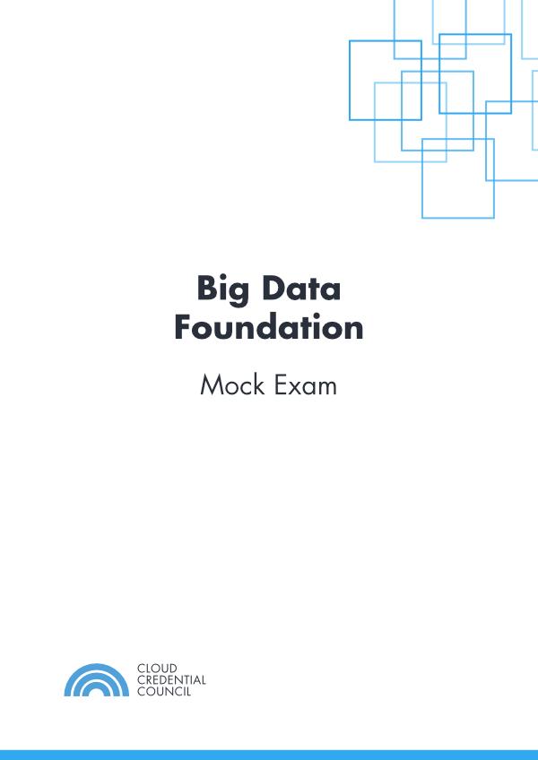 Big Data Foundation Mock Exam