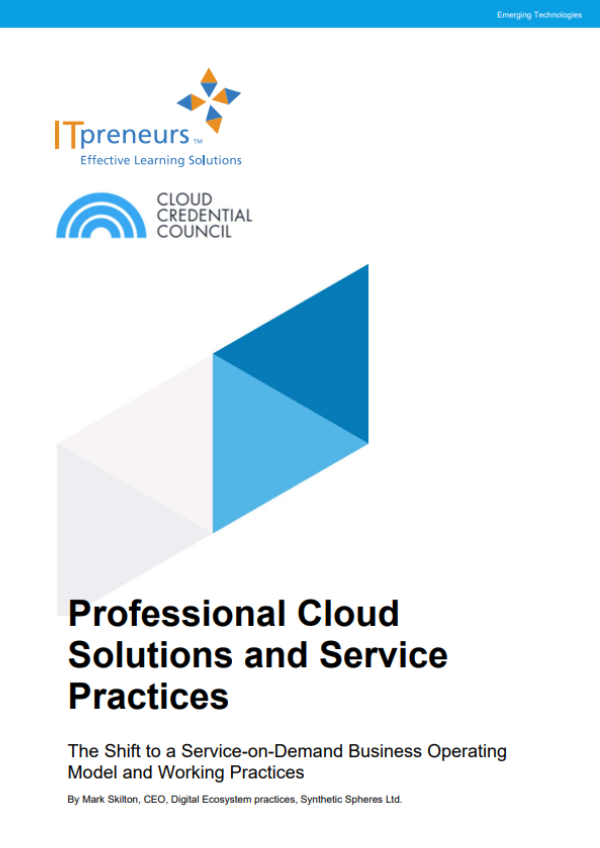 Professional Cloud Solutions And Service Practices Whitepaper