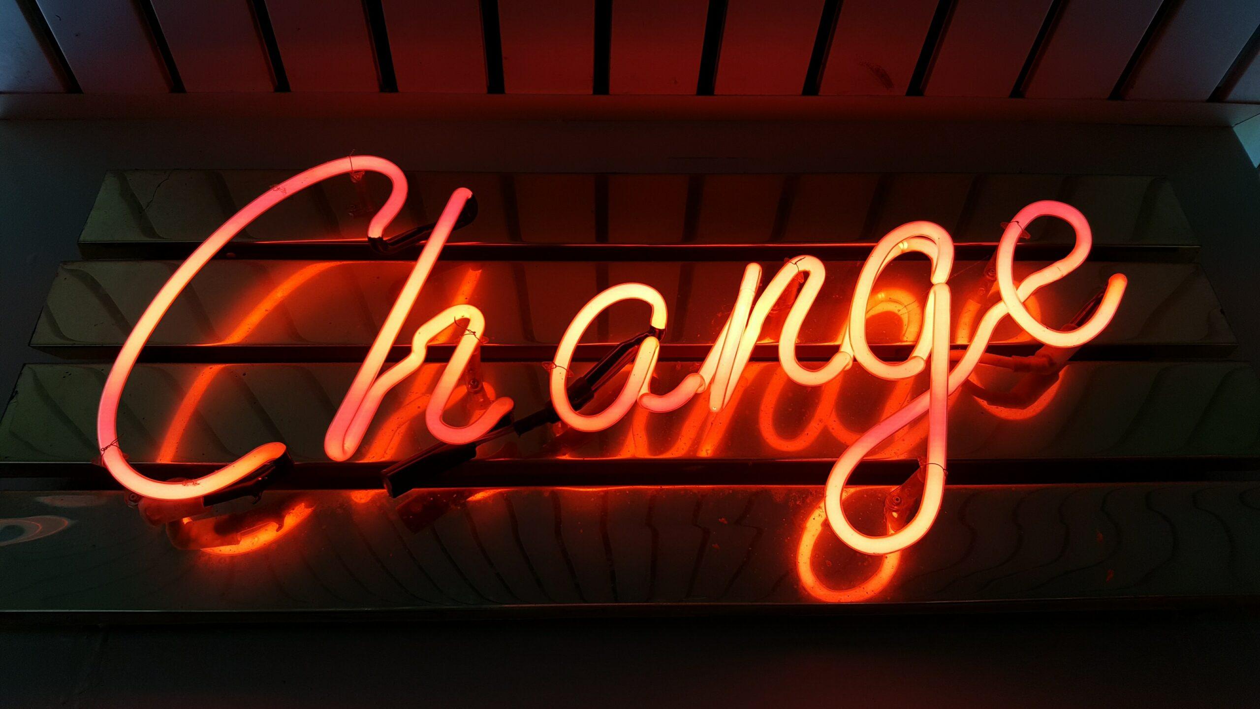 Change neon